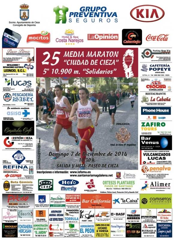 Los datos de la XXV Media Maratón