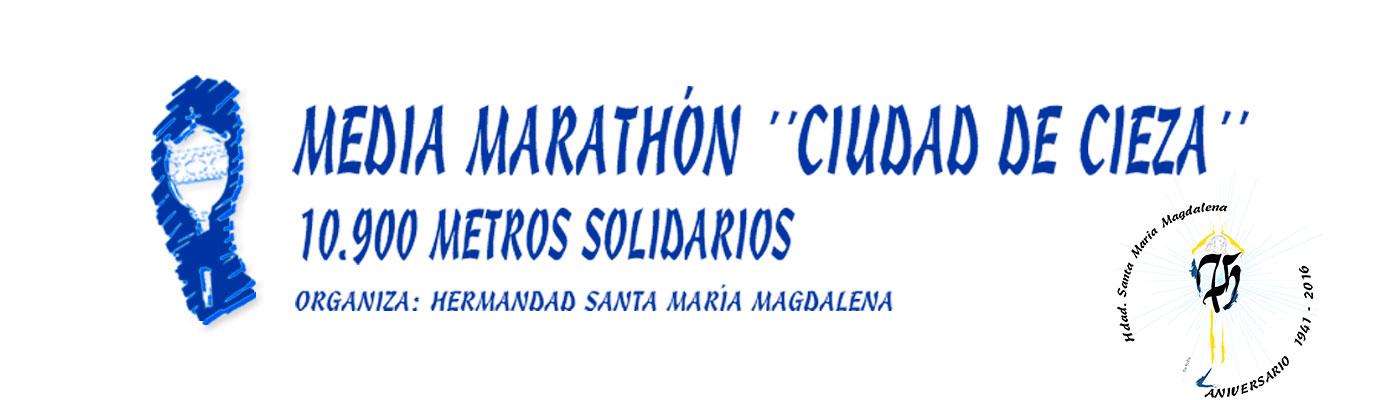 Media Maratón & 10k solidarios ciudad de Cieza
