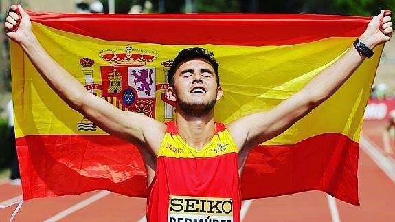 Participación del atleta Internacional Manuel Bermúdez