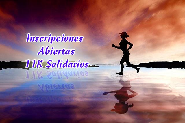 Abiertas inscripciones 8º 11K solidarios