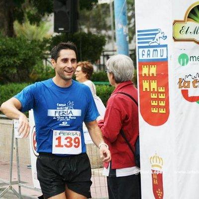 Juan Manuel Molina Morote participará en la XXV Media Maratón.