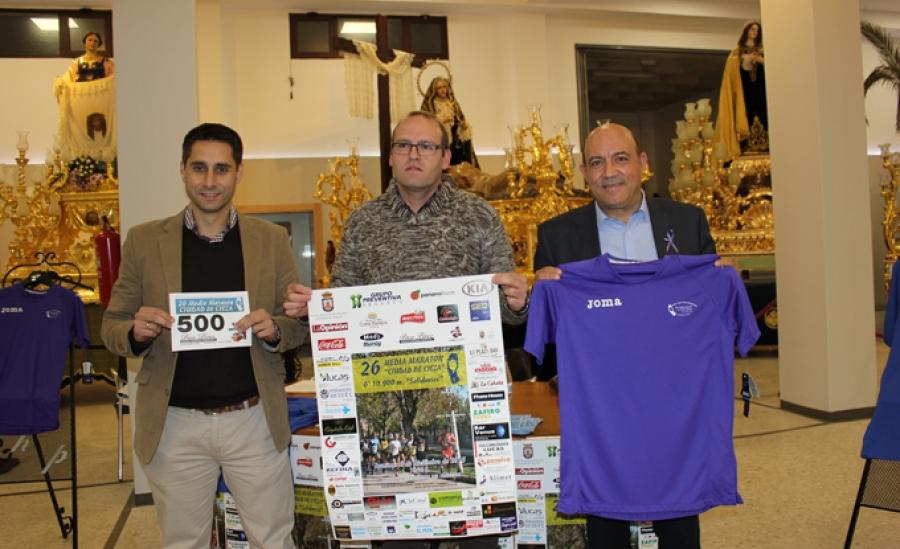 Presentan la XXVI Media Maratón 'Ciudad de Cieza' y los 6º 10.900 m solidarios
