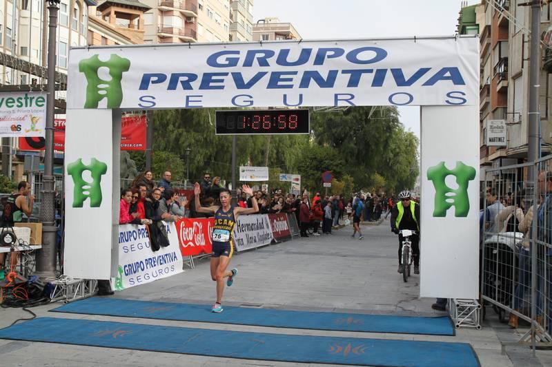 David Sánchez y Cristina González brillan en Cieza