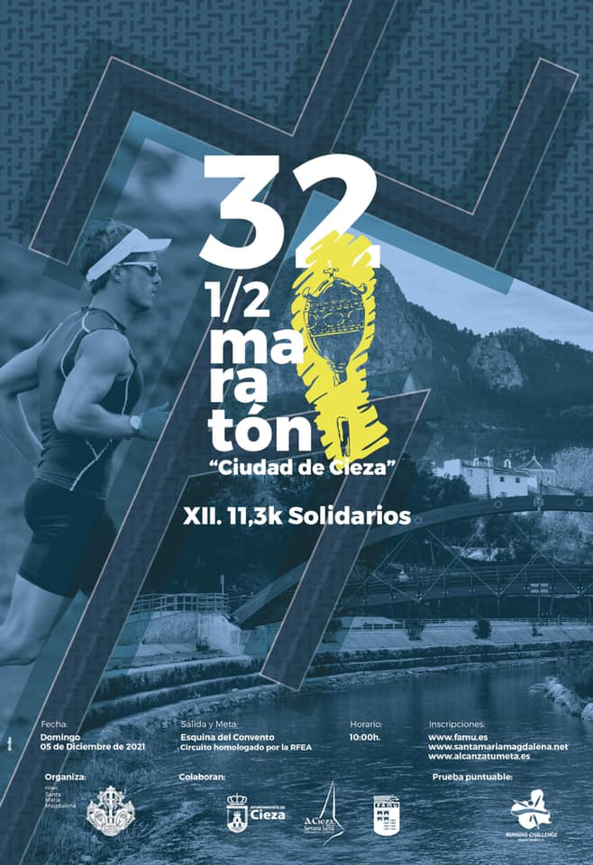 Cartel XXXII media maratón
